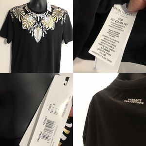 new versace men t shirt authentic M
